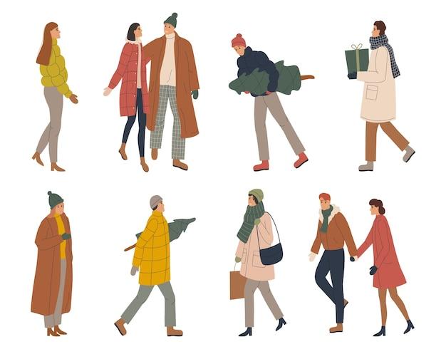 Femmes et hommes à la mode