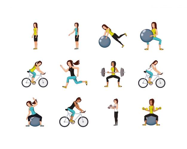 Femmes isolées, faire du sport