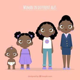 Femmes noires de différents âges