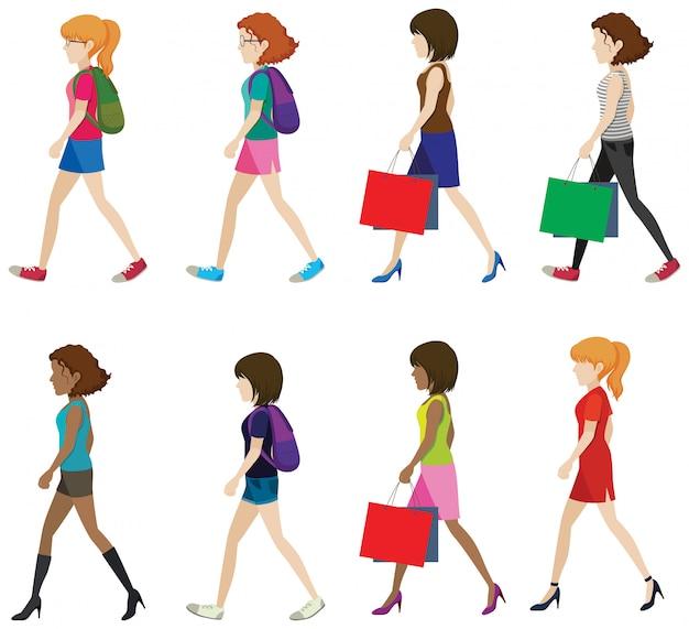Femmes sans visage