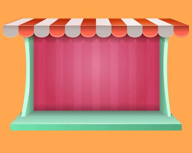 Fenêtre de magasin de jeux vidéo pop up