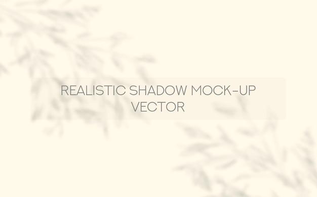 Fenêtre d'ombre réaliste et laisse une maquette de présentation de médias sociaux avec des ombres réalistes