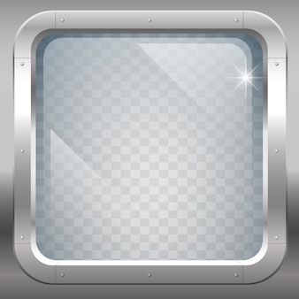 Fenêtre en verre clair