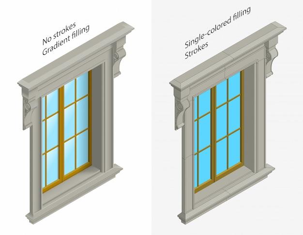 Fenêtres isomentiques