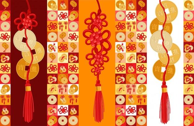 Feng shui avec illustration de pièces