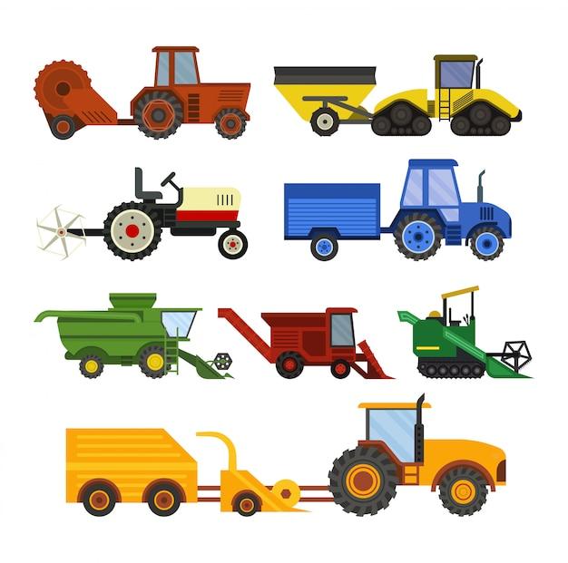 Ferme d'équipement pour moissonneuse de machines agricoles