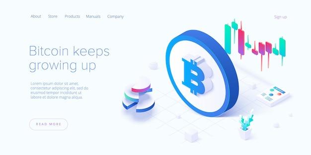 Ferme minière cryptocoin. réseau de crypto-monnaie et blockchain.