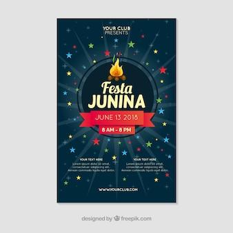 Festa junina affiche
