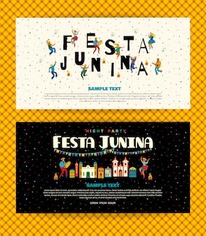 Festa junina. modèles