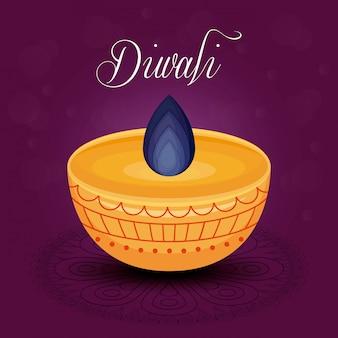 Festival de bougie diwali