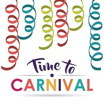 Festival de carnaval de streamer