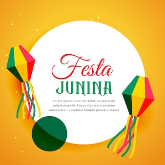 Festival du festival de festa junina du brésil