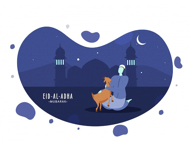 Festival islamique eid-al-adha concept.
