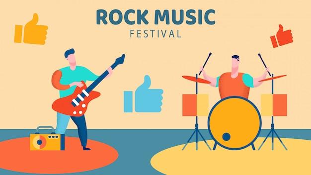 Festival de musique rock