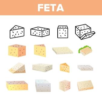 Feta, produit laitier de vache
