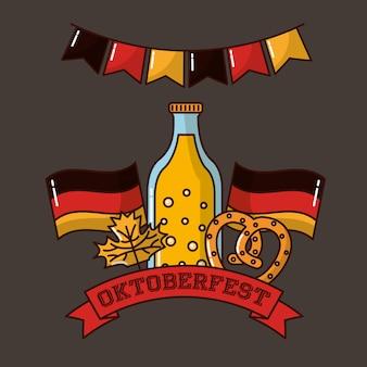 Fête de l'allemagne oktoberfest