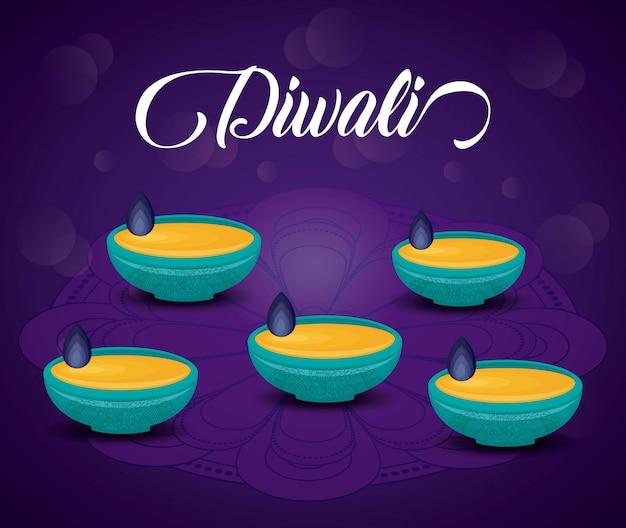 Fête des bougies diwali