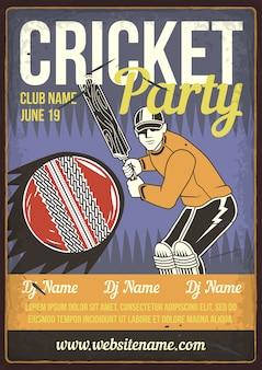 Fête de cricket