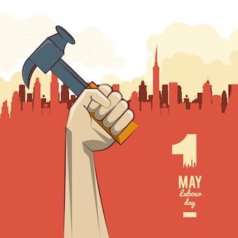 Fête du travail le 11 mai
