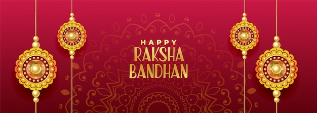 Fête hindoue de la bannière de rakshabandhan