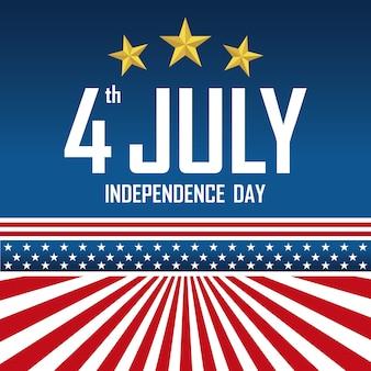 Fête de l'indépendance le 4 juillet.