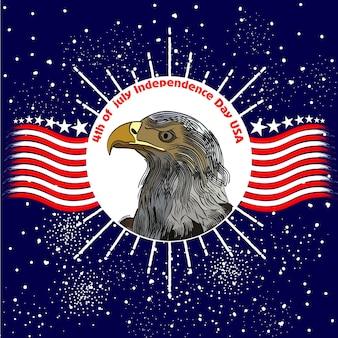 Fête de l'indépendance de l'amérique le 4 juillet