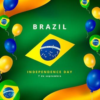 Fête de l'indépendance du brésil
