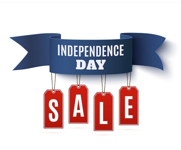 Fête de l'indépendance, vente du 4 juillet.