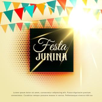 Fête de juin du festival junior de festa junior