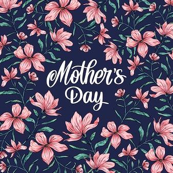 Fête des mères florales de printemps
