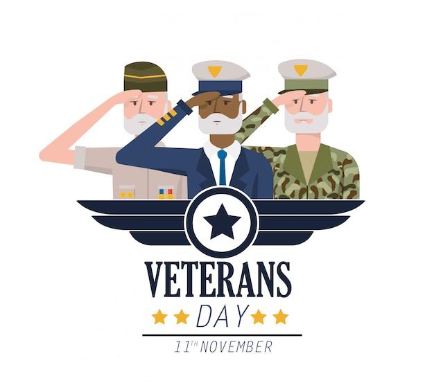 Fête nationale des anciens combattants et célébration des forces armées