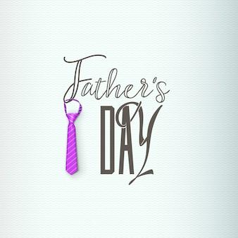 Fête des pères - modèle à la main. le logo d'objet vectoriel isolé est un badge pour votre conception