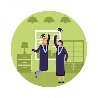 Fête de remise des diplômes filles
