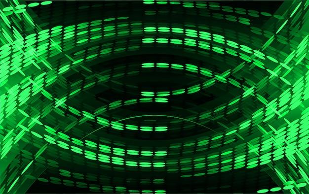 Feu vert abstrait