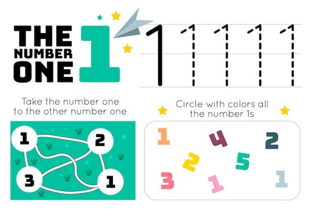 Feuille de calcul numéro 1 avec labyrinthe