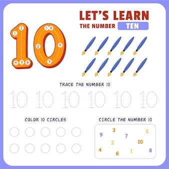 Feuille de calcul numéro 10