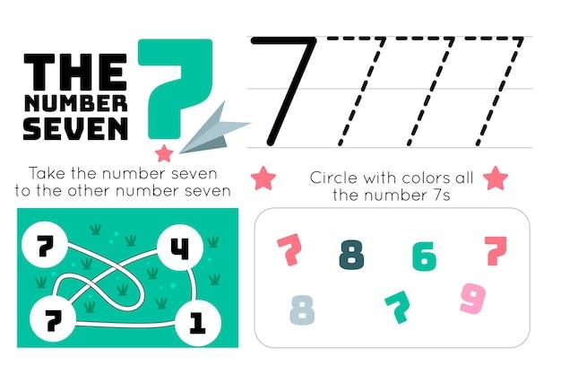 Feuille de calcul numéro 7 avec labyrinthe