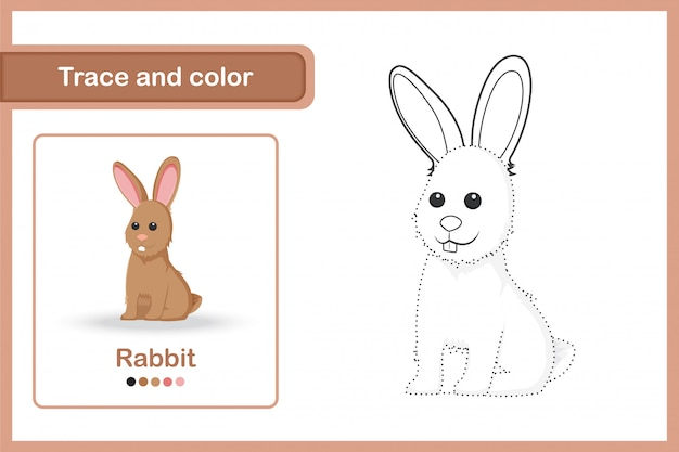 Feuille de dessin pour les enfants d'âge préscolaire