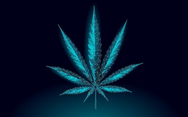 Feuille de marijuana médicale. légaliser le concept de traitement de la douleur médicale. symbole d'objet de médecine des mauvaises herbes de cannabis. illustration de prescription traditionnelle de l'état juridique.