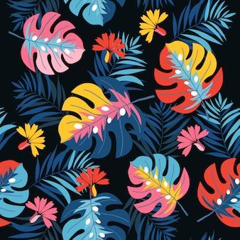 Feuille de palmier de printemps
