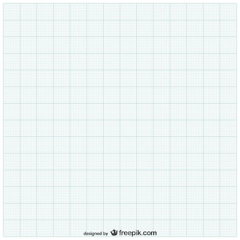 Feuille de papier avec grille
