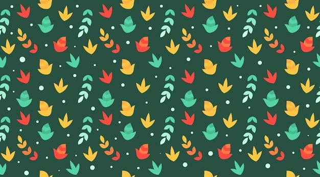 Feuilles d'automne vecteur d'illustration de fond