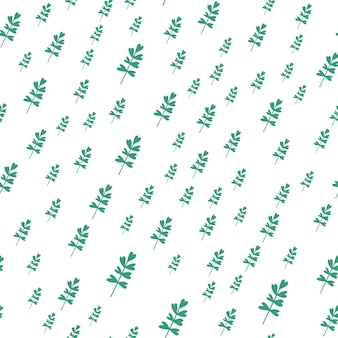 Feuilles de plantes modèle sans couture