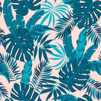 Feuilles et plantes tropicales