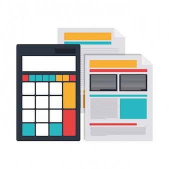 Fiche de fichier avec calculatrice