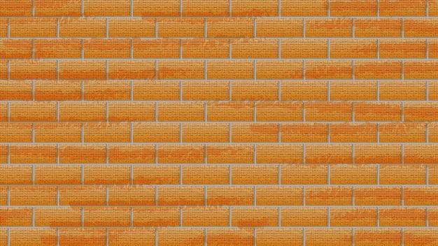 Fichier eps de fond de mur de briques rouges