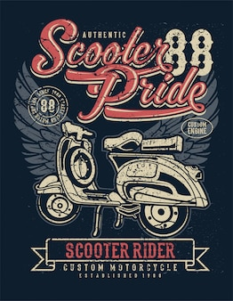 Fierté de scooter