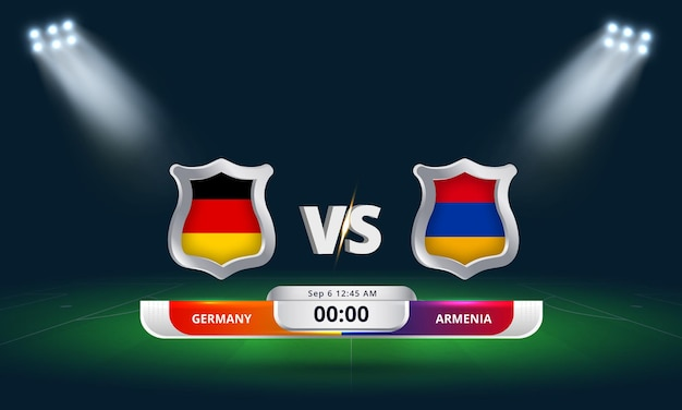 Fifa world cup qualifier 2022 allemagne vs arménie match de football