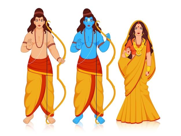 Figures mythologiques hindoues