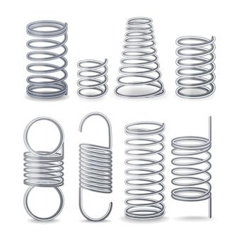 Fil flexible en spirale